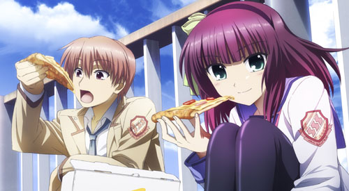 Angel Beats!   Pizza Hut