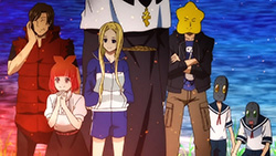 Arakawa Under the Bridge   10   12