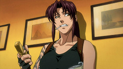 BLACK LAGOON Robertas Blood Trail   01   33