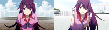 Bakemonogatari   09   Comparison 01
