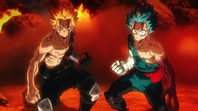 Boku no Hero Academia the Movie 2: Heroes:Rising - Random ...