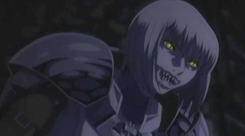 Claymore anime porno
