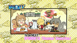 DOG DAYS 2   12   End Card