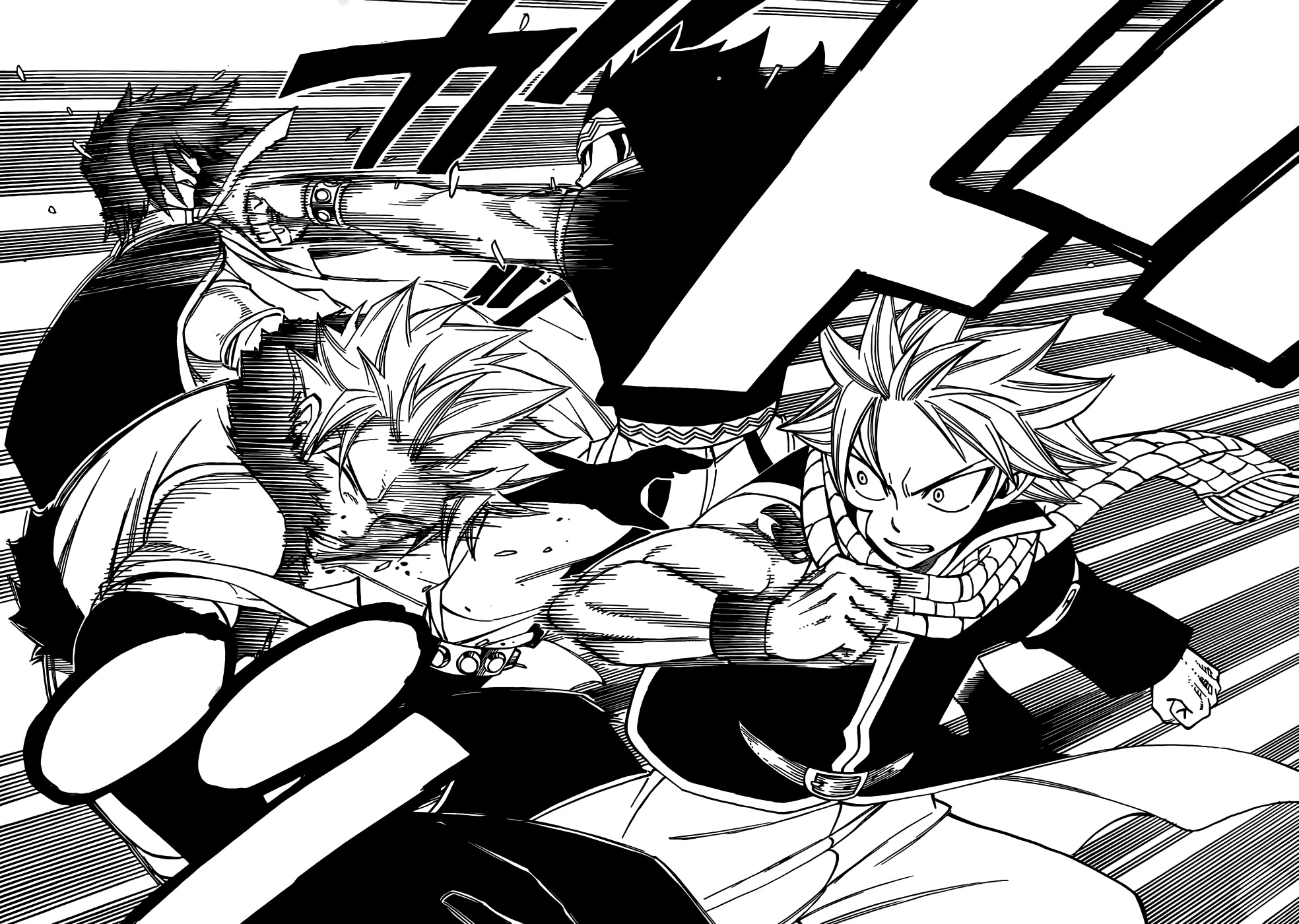 Fairy tail 294 battle of dragon slayers random curiosity - Image manga fairy tail ...