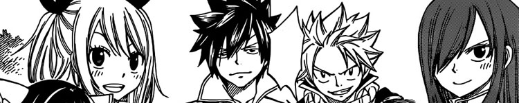 FAIRY TAIL Manga   341 to 343   04