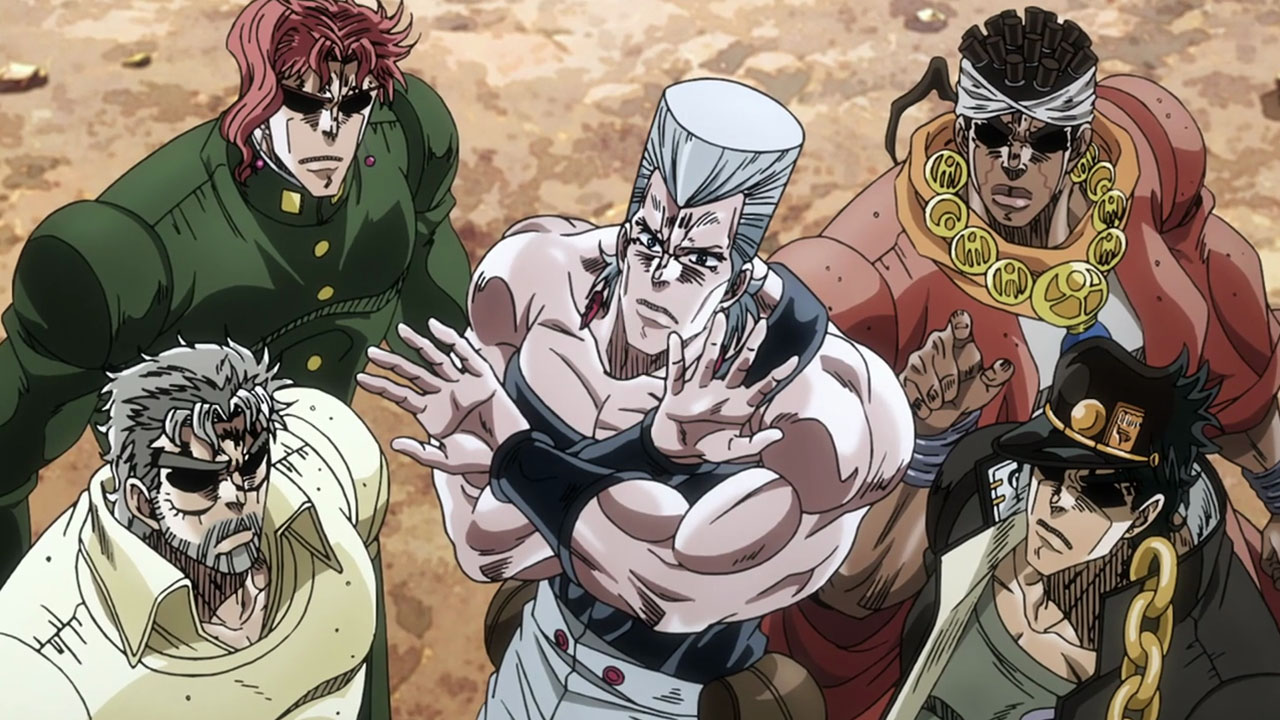 Its JoJos Bizarre Adventure What Else Is There To Say Been Three Months Since The Last Episode And Yet It Feels Like No Time Has Passed