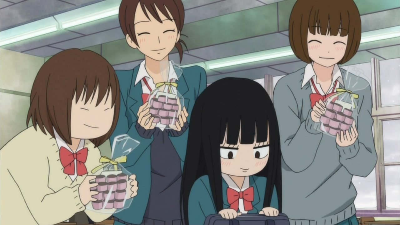 """Sawako et les """"Tomo-Chocos"""" Kimi ni Todoke (Saison 2 episode 1)"""