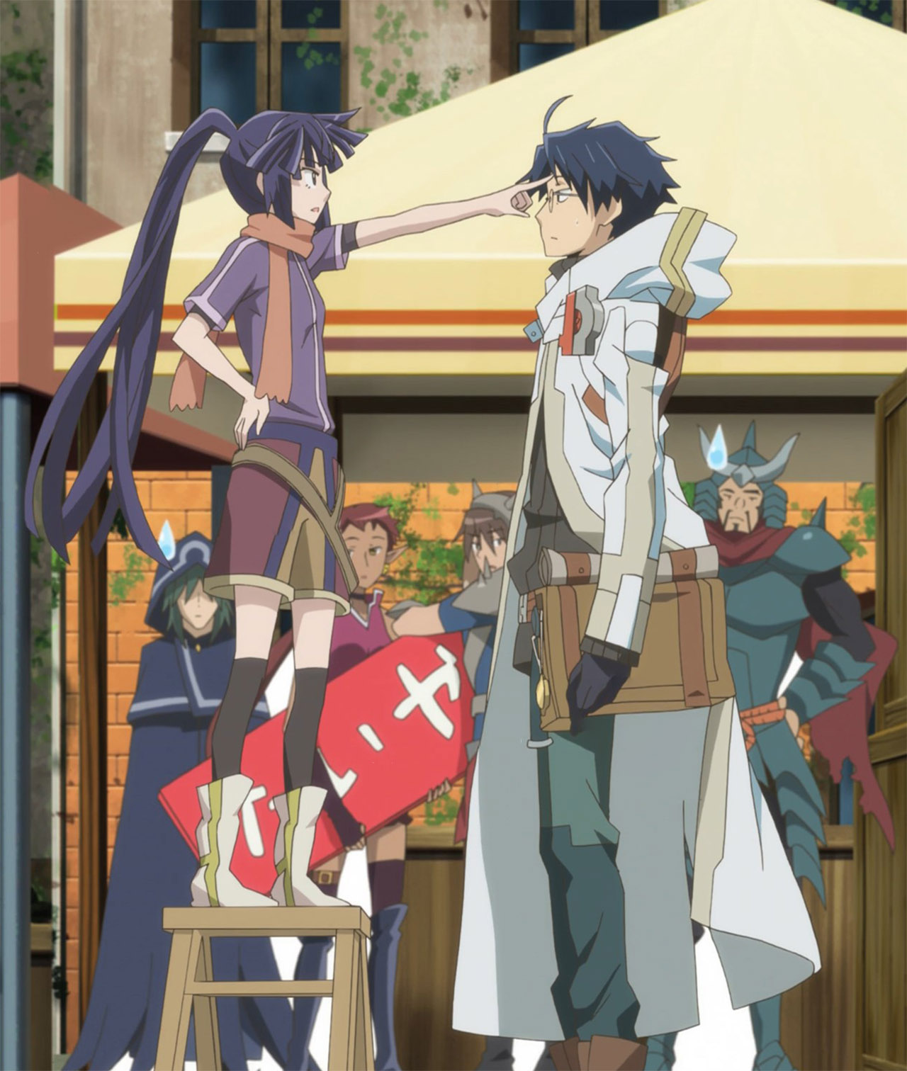 Log Horizon 2 23 Random Curiosity
