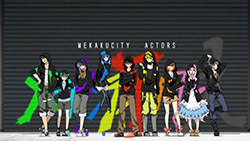 Mekaku City Actors   OP   01