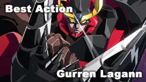 Best Action   Gurren Lagann