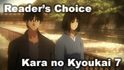Readers Choice 2009   OVA ONA Movie