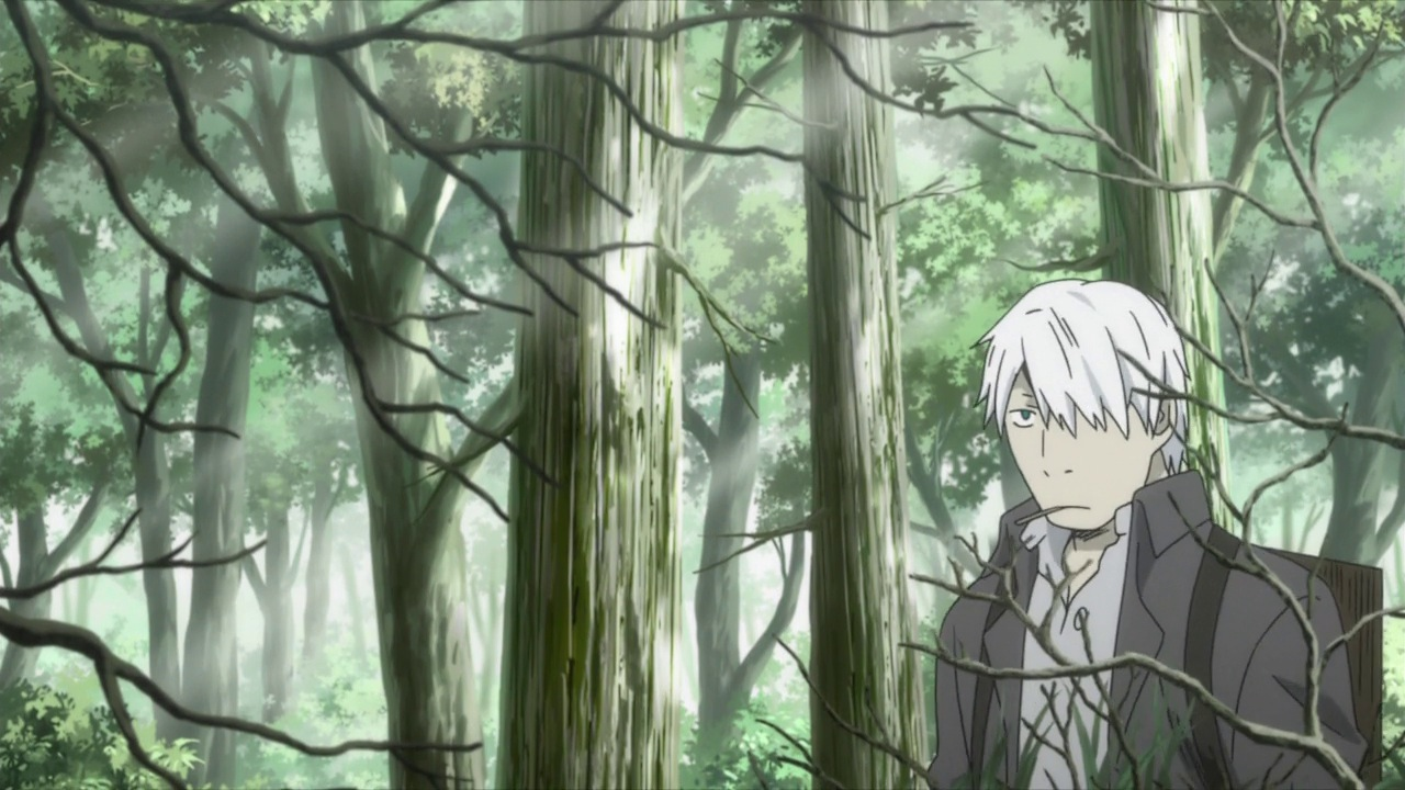 Kết quả hình ảnh cho Mushishi anime