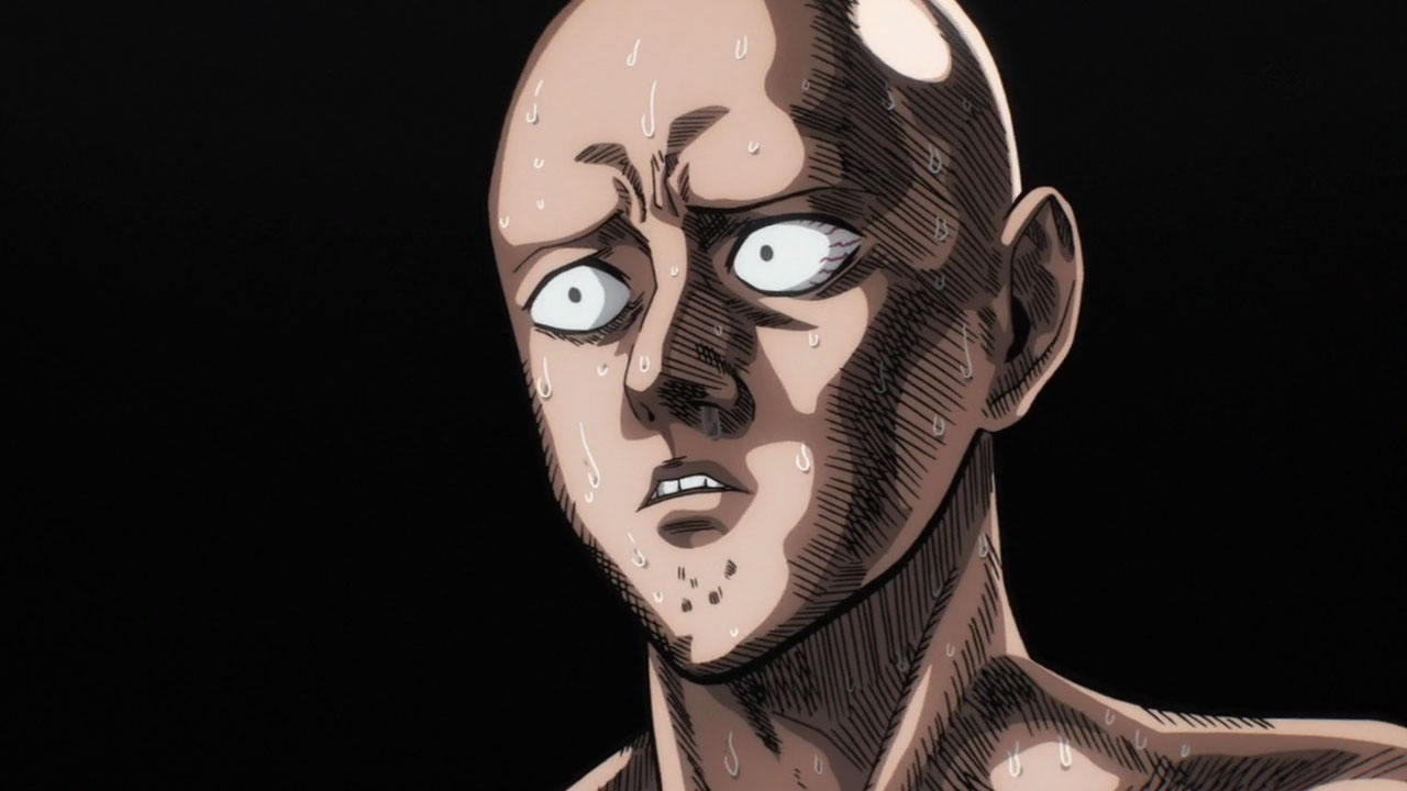 Resultado de imagen para saitama face