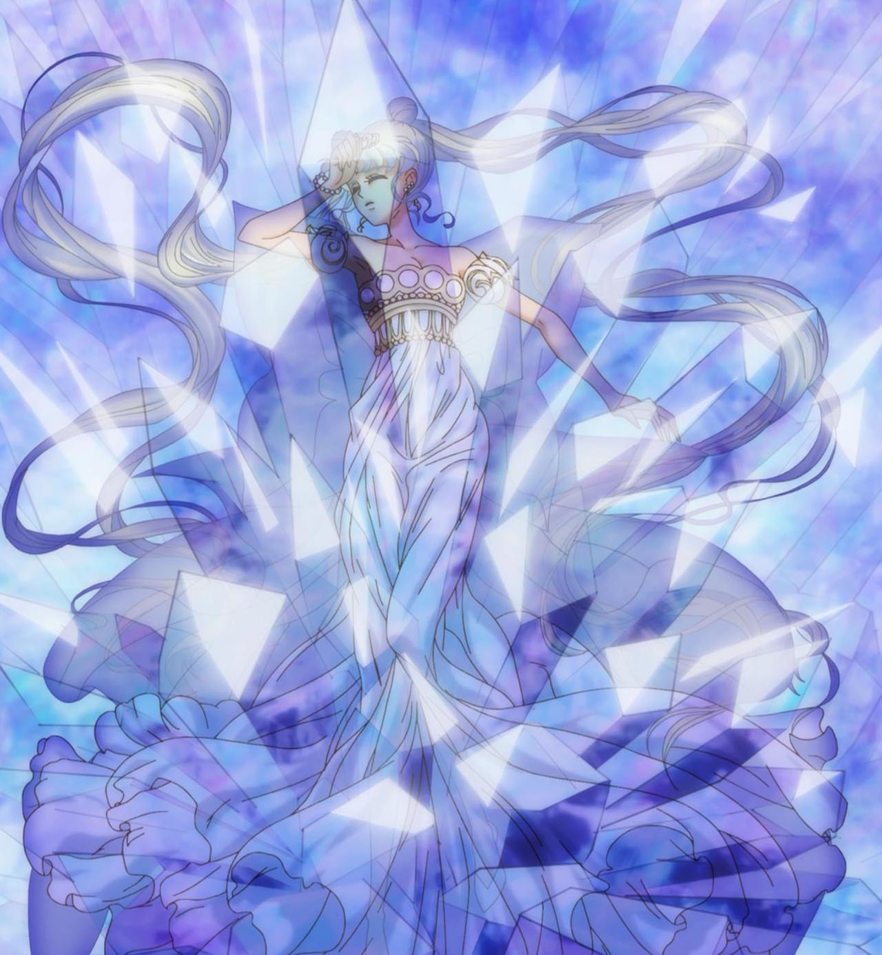 Neo Queen Serenity Crystal