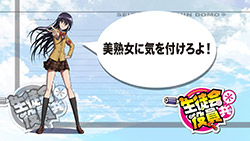 Seitokai Yakuindomo S2   01   End Card