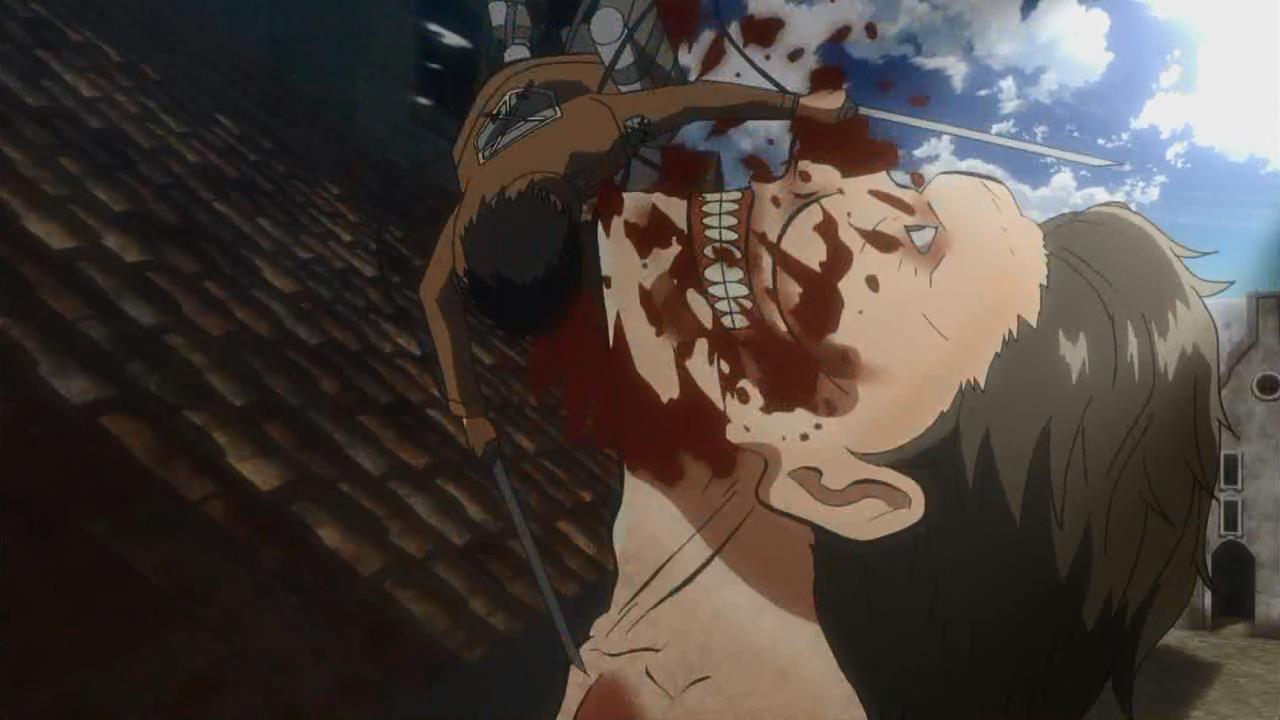 Kết quả hình ảnh cho Shingeki no Kyojin (Attack on Titan) titan eat