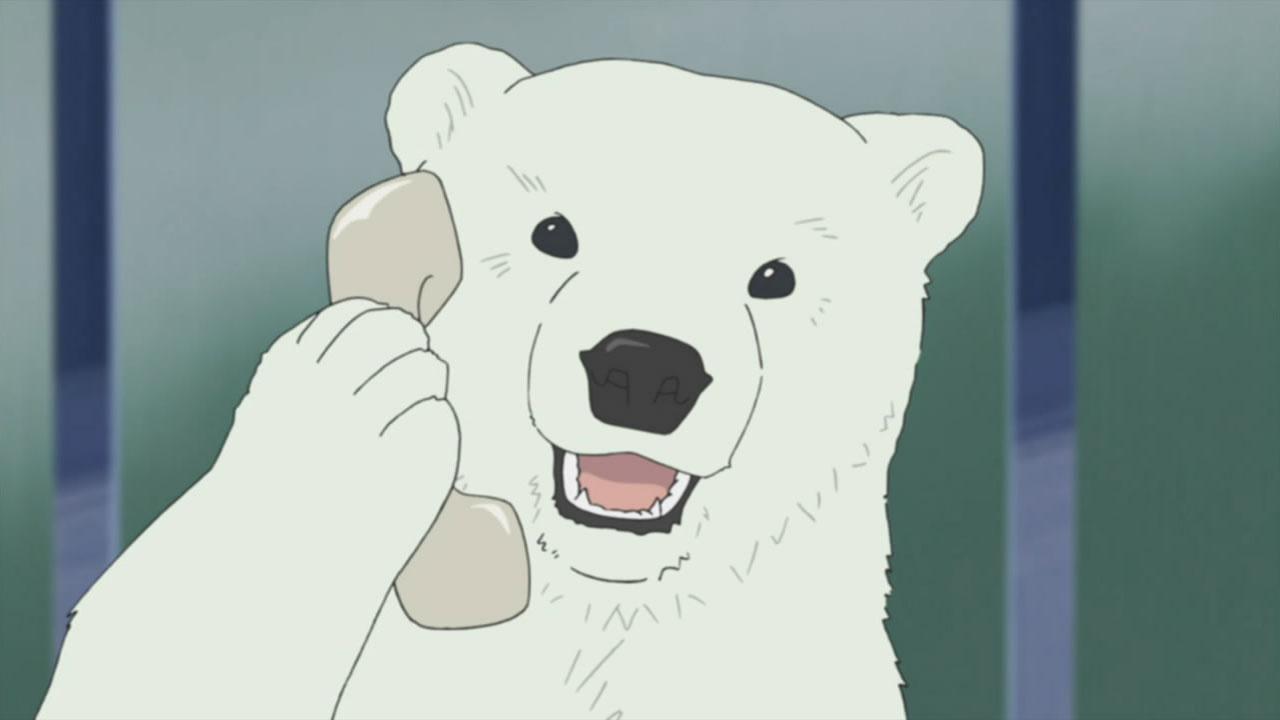 Картинки аниме медведь