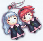 Shizuma and Nagisa Dolls