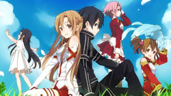 Sword Art Online   14   End Card